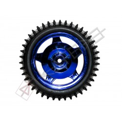 12mm Hub Off Road Wheel 85mm diameter 1:10 RC - BLUE