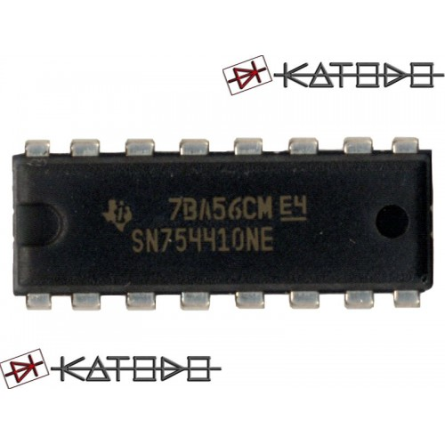 SN754410 DUAL FULL-BRIDGE DRIVER