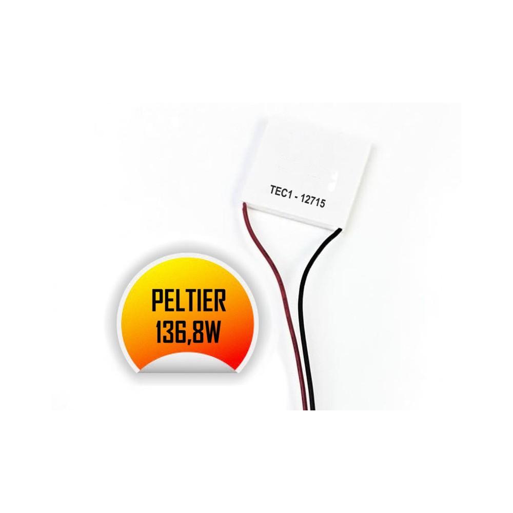 TEC1-12715 Thermoelectric Peltier Cooler 12 Volt 136 Watt
