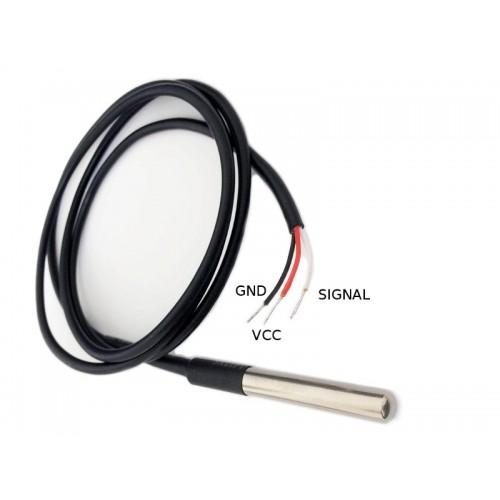 Waterproof Digital Thermal Sensor DS18B20 - DS18B20 Probe for Arduino
