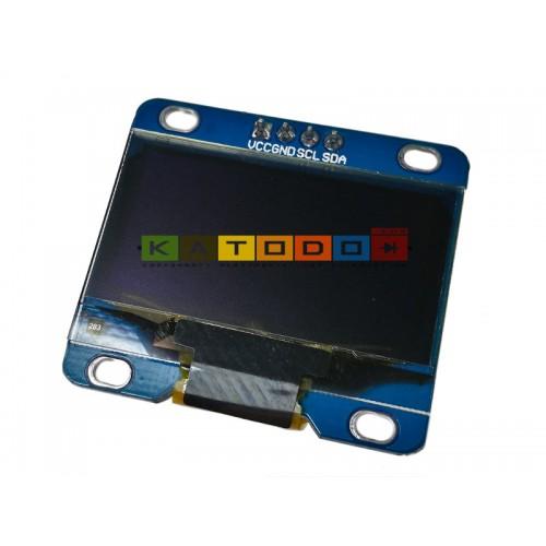 """White 1.3"""" IIC I2C 128X64 OLED LCD Display Module ( Arduino STM32 AVR 51 )"""