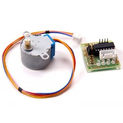 5V 4 Phase 1/64 reduction ratio Stepper motor 28BYJ-48 + ULN2003 Driver for Arduino