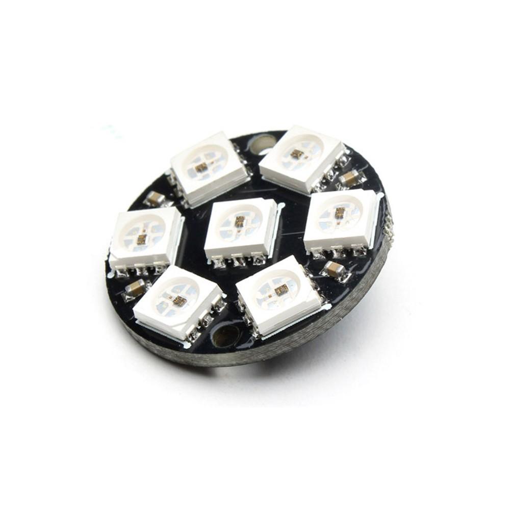 7 led WS2812 5050 RGB module 23 mm diameter