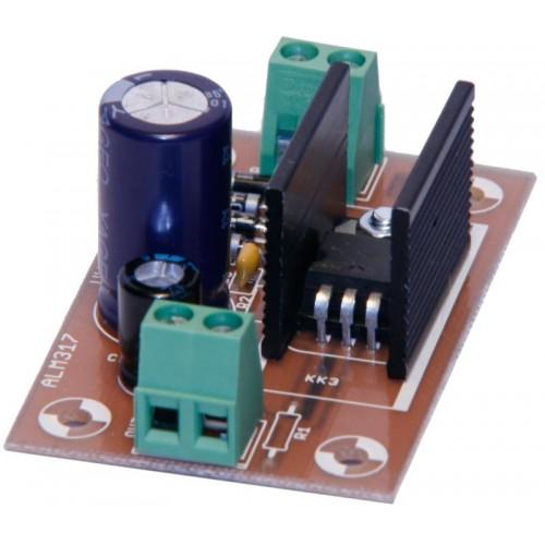Alimentatore LM317 5V 1A 2W ( Vin 8-12V dc/ac ) - KIT COMPONENTI