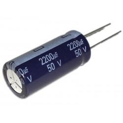 Aluminium Electrolytic Capacitor 2200µF 2200uF 50V P7,5 Ø 18 H 36 mm