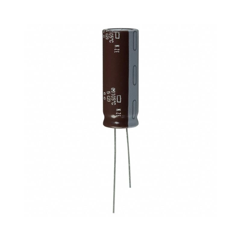 Aluminium Electrolytic Capacitor 330µF 330uF 100V P5 Ø 13 H 35 mm 105°