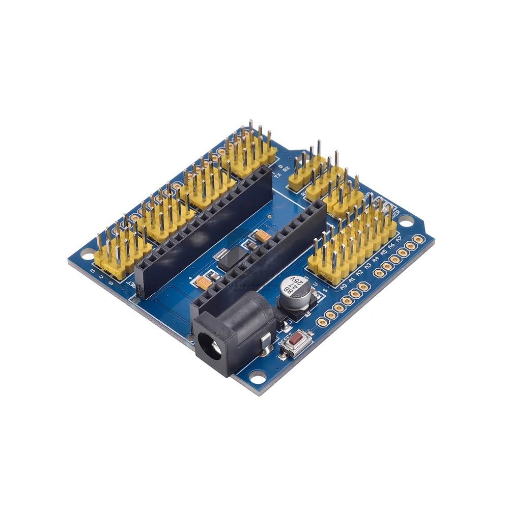 Arduino Nano I/O Shield, transform it in Arduino UNO ( Arduino not included )
