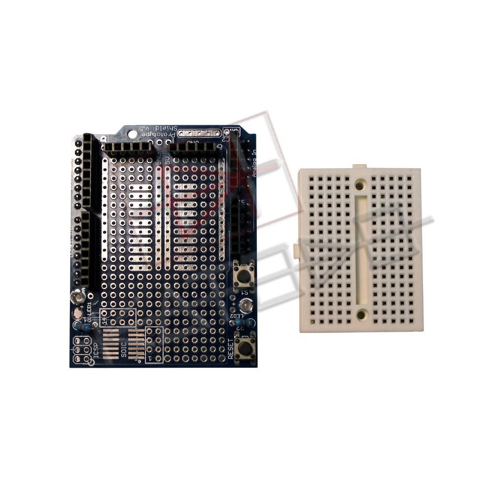 Arduino Prototype Shield Mini Breadboard - ProtoShield