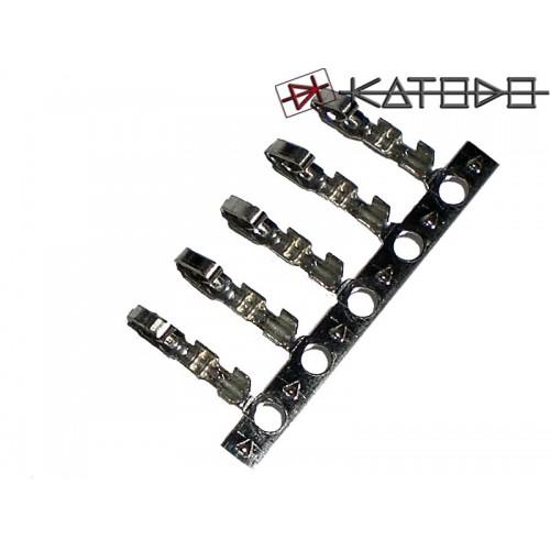 Busta 50pz contatti per connettori AMP serie J2541/2512/2546