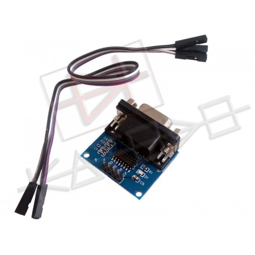DB9 RS232 to TTL Adapter with MAX3232 IC - 3 to 5V with Female Female jumper