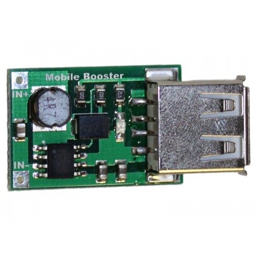 DC-DC StepUp Boost Module 2V to 5V 1200mA 1.2A USB OUTPUT