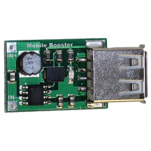 DC-DC StepUp Boost Module 2V to 5V 1200mA 1.2A USB OUTPUT