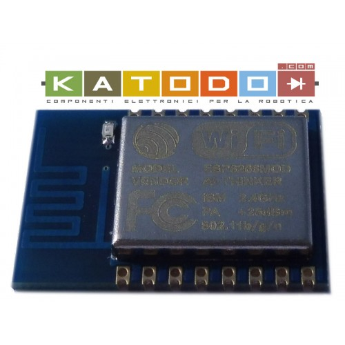 ESP-12 - ESP8266 WiFi Module with full I/O and PCB antenna - 3.3V