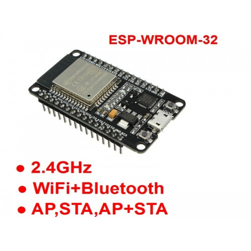 ESP-WROOM-32 ESP-32S Development Board WiFi Bluetooth Ultra-Low Power Consumption Dual Cores