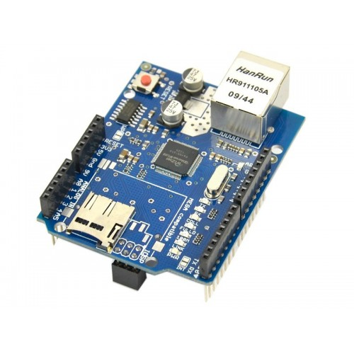Ethernet Shield W5100 For Arduino 2009 UNO Mega 1280 2560 - MicrSD slot