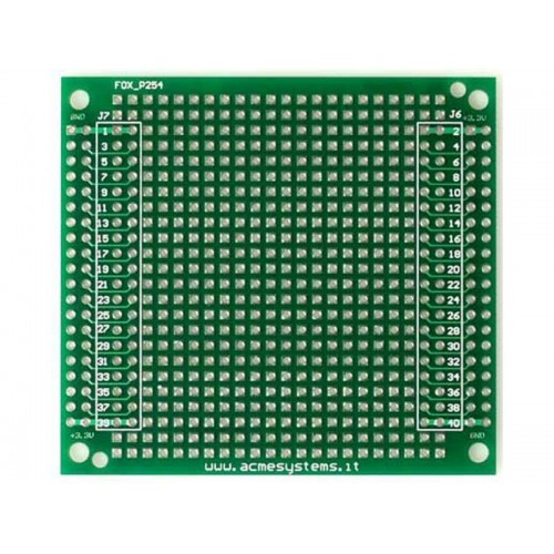 FOXP254 - Protoboard step 2.54mm