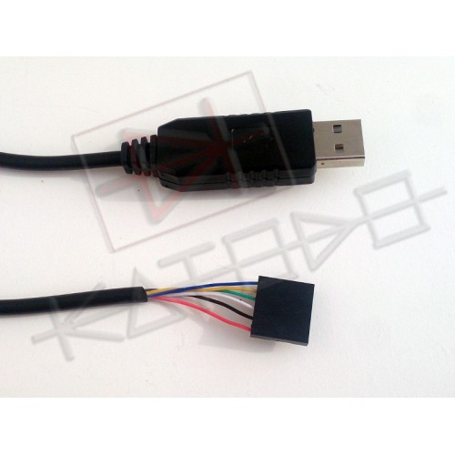 FTDI FT232RL USB to TTL RS232 adapter cable with 6Pin connector - Arduino Raspberry Beagle Bone