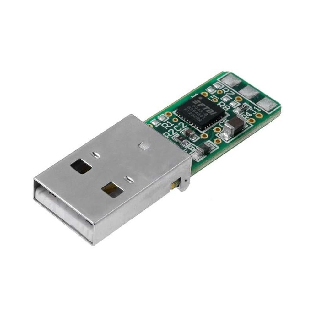 FTDI TTL-232R-5V-PCB USB to TTL serial converter module - 4.25 V, 5.25 V