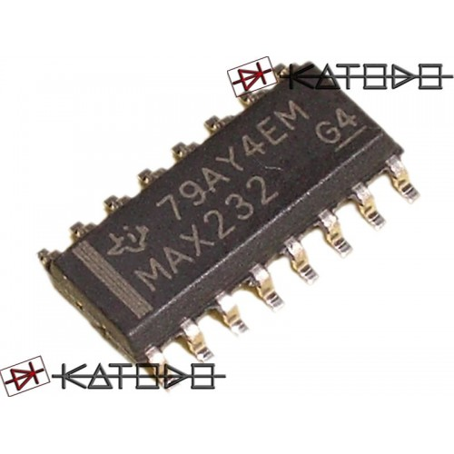 ICL232CBE ( MAX232 ) SMD SO16