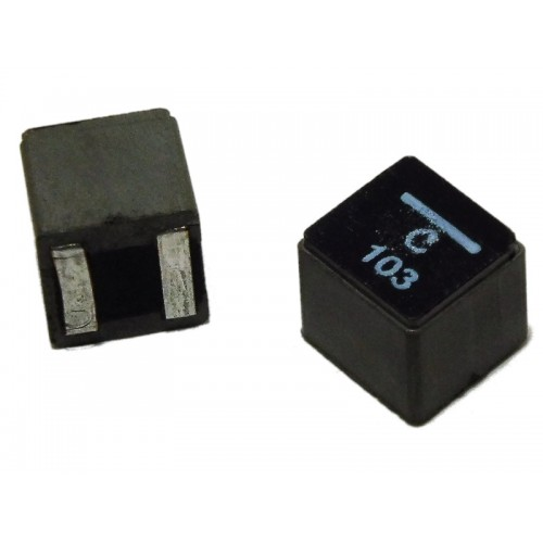 Inductor 10 µH 8.7 A Shielded 23 mOhm, 8.3x8.3 h-8mm case ( XAL8080-103MEB )