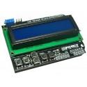 LCD 1602 Keypad Shield For Arduino Due Duemilanove UNO R3 Mega2560 R3