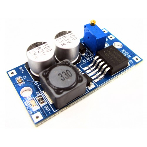 LM2596HVS-ADJ DC/DC StepDown Supply Module - 4,5 to 55Vin ( 1,25V to 26V Vout)