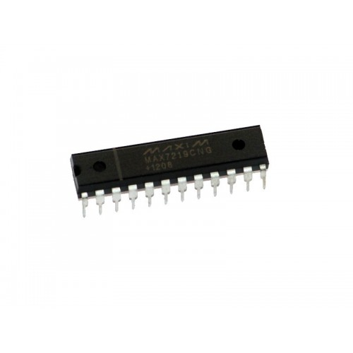 MAX7219CN - Serial Interfaced, 8 Digit LED Drivers
