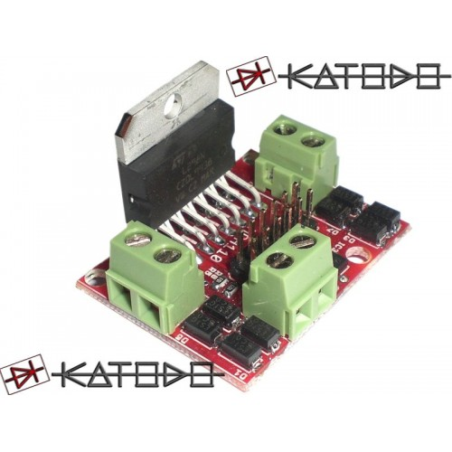 Mini PonteH MPH110 L298 motor driver without SHUNT