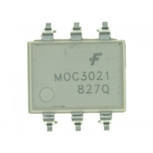 MOC3021 OPTOCOUPLER TRIAC OUT 6-SMD