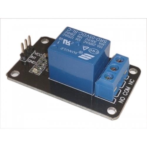 Modulo Scheda Relè 5V 1 Canale 10A per Arduino PIC AVR