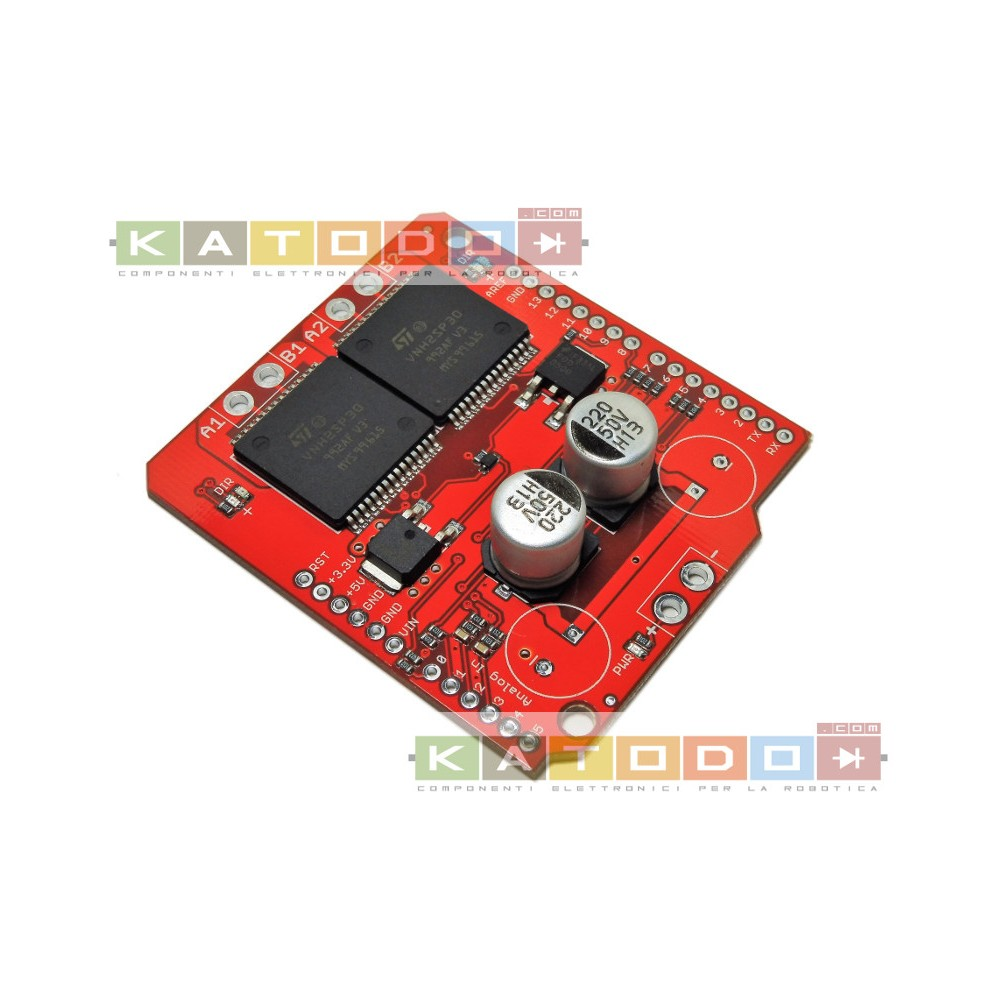 Monster Motor Shield Dual VNH2SP30 16V 30A ( 14A Continuous ) Arduino Uno