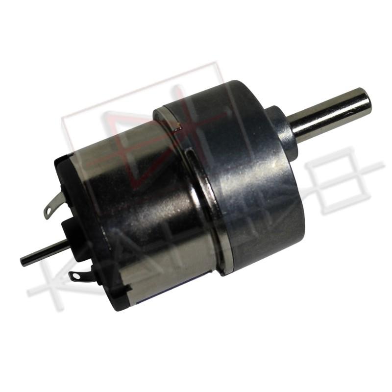 Motoriduttore 12V ( 6V to 18V ) 200rpm 30:1 with 2mm rear shaft