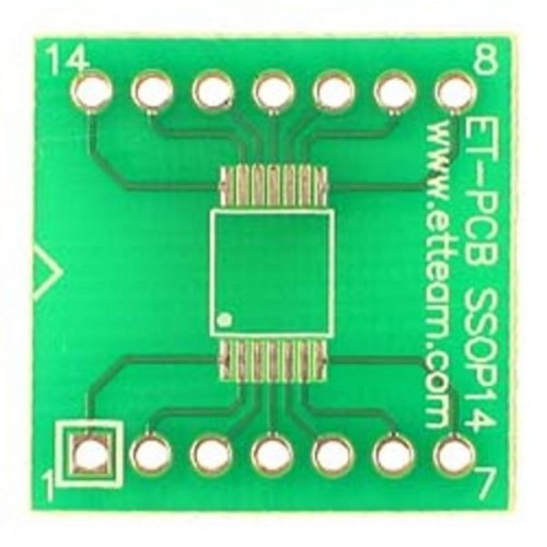 PCB 14 Pin SSOP SMD Adapter