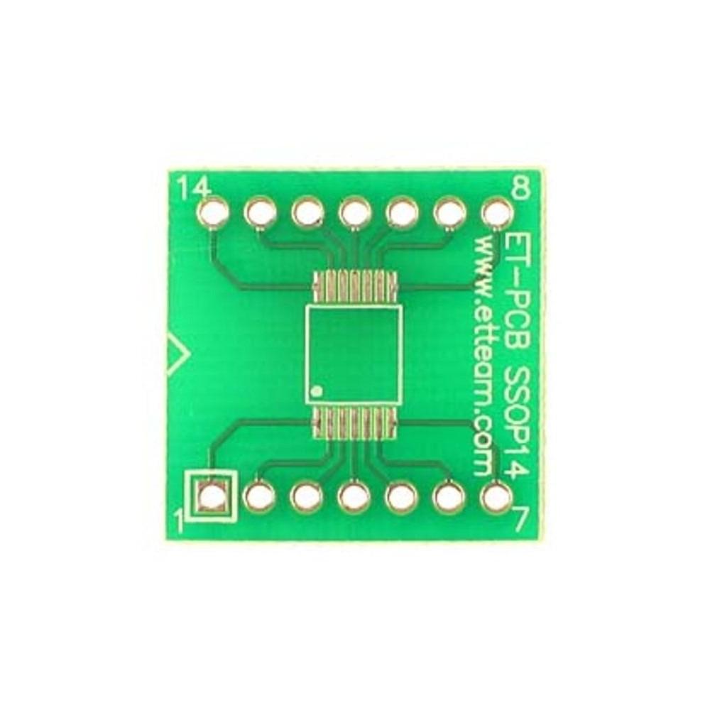 PCB 14 Pin SSOP SMD Adapter