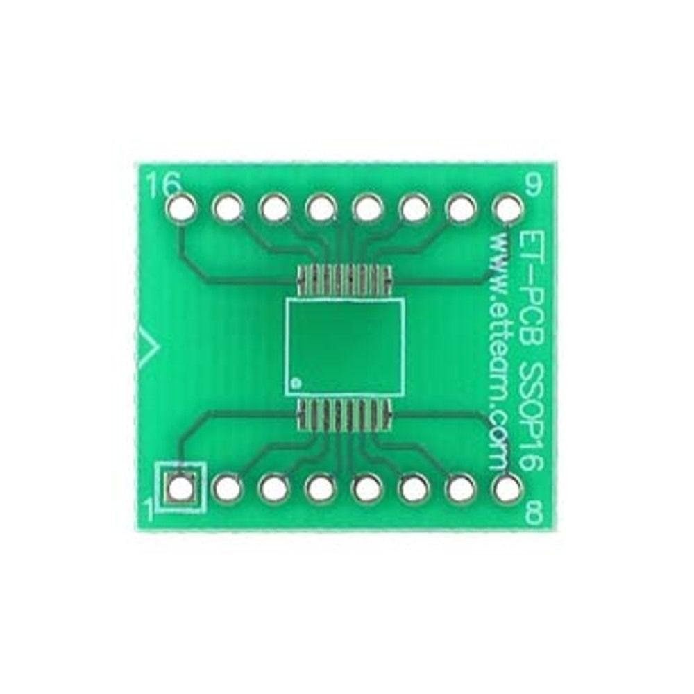 PCB 16 Pin SSOP SMD Adapter