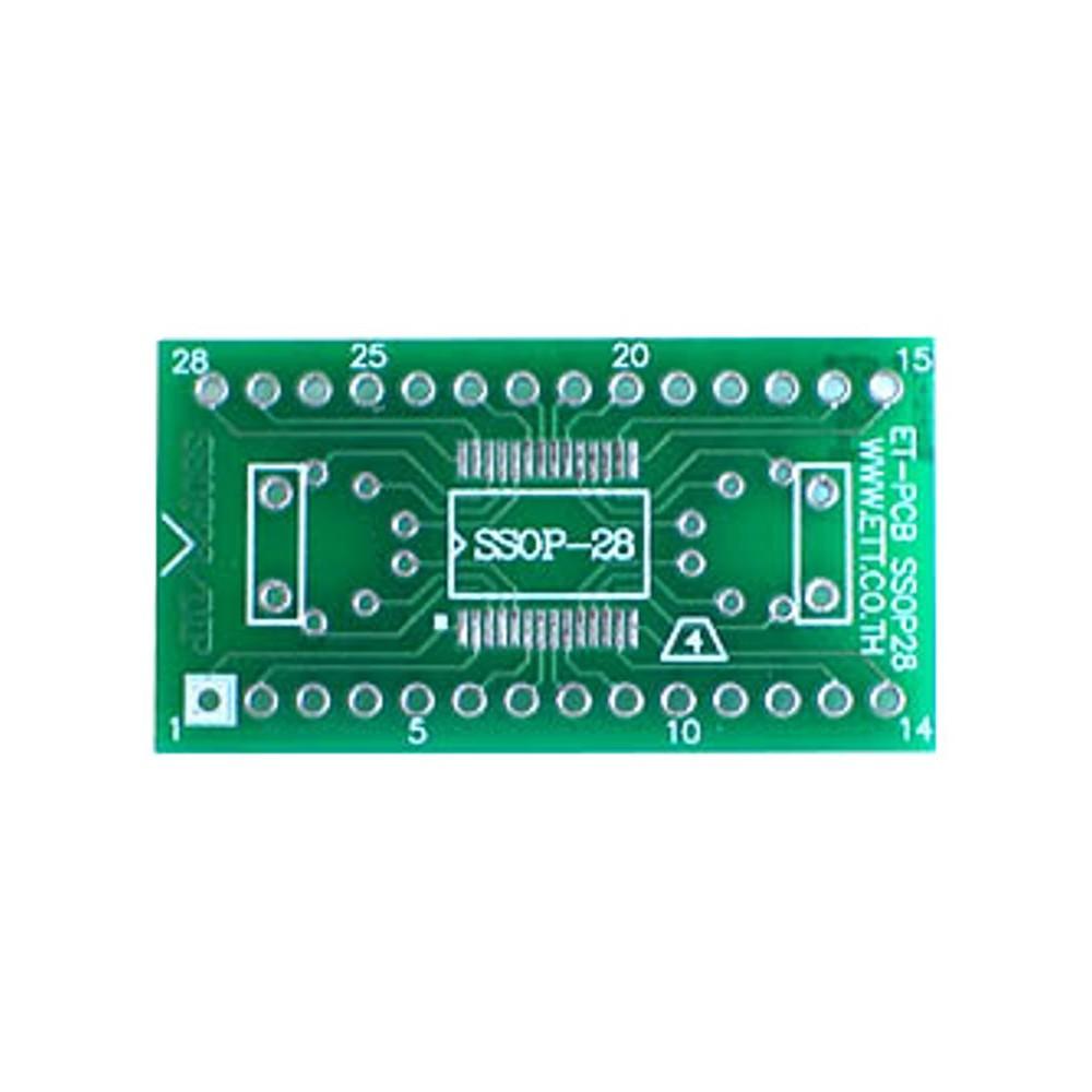 PCB 28 pin SSOP Adapter