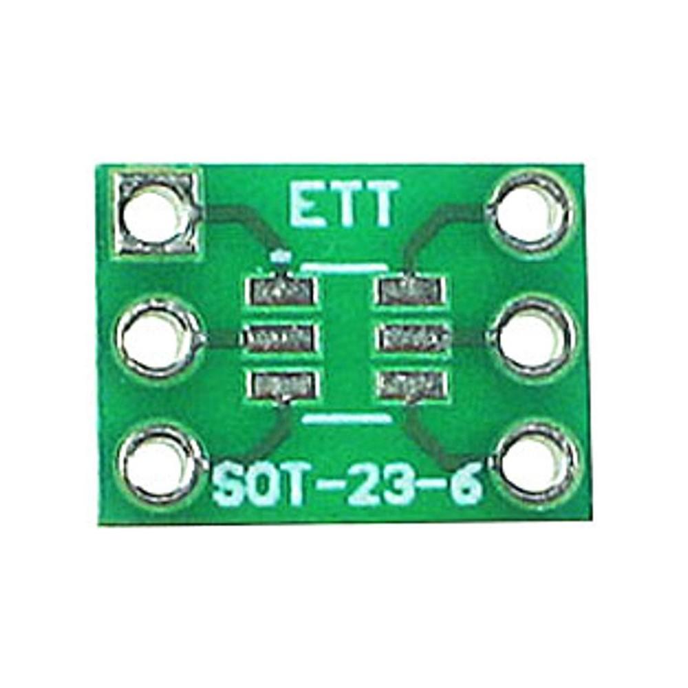 PCB 6 pin SOT23 to DIP Adapter