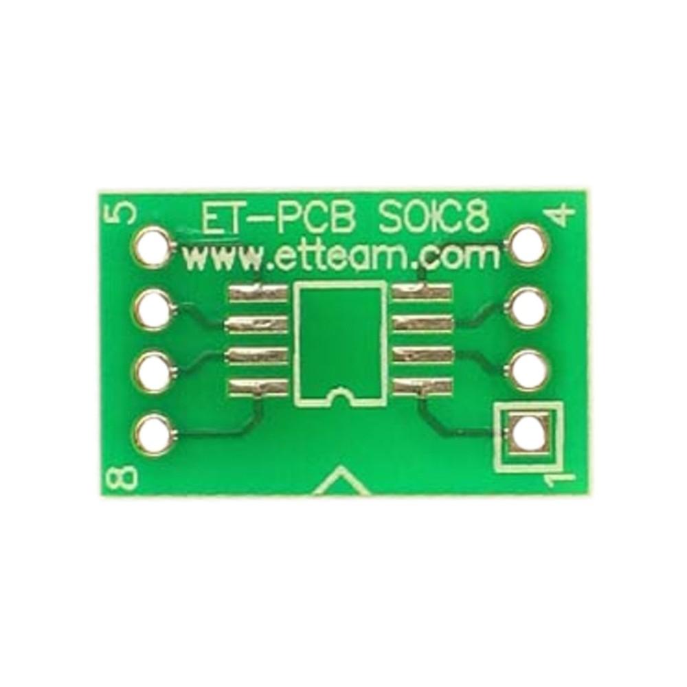 PCB 8 pin SOIC SMD Adapter