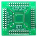PCB 80 pin TQFP SMD Adapter