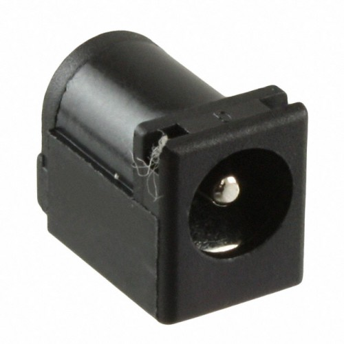 Power Jack , 2,0mm in - 6,5mm ext diameter, Male PCB - Compatible with Female Jack 2,1mm internal and 5,5mm externa diameter