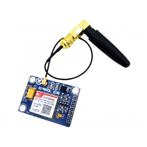SIM800L Quadband GPRS GSM Module with SIM and Antenna ( Arduino compatible )