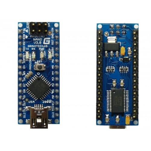 Arduino Nano v3.0 ATMEGA328 FR232 + USB Cable ( Compatible )