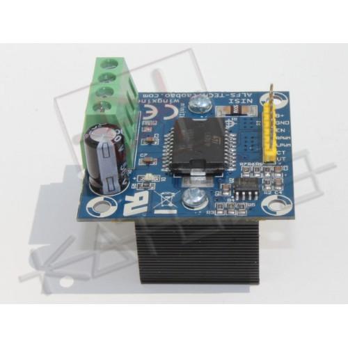 miniIBT DC Motor Drive H-bridge LAP 12V-36V 4A 100Khz L6201P MOS