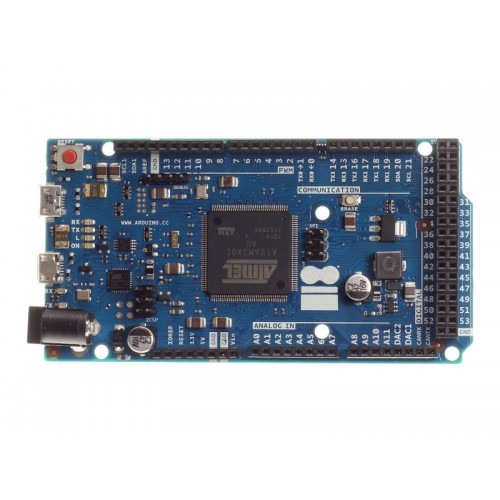 Arduino Due R3 Compatibile 100% - SAM3X8E 32-bit ARM Cortex-M + USB Cable