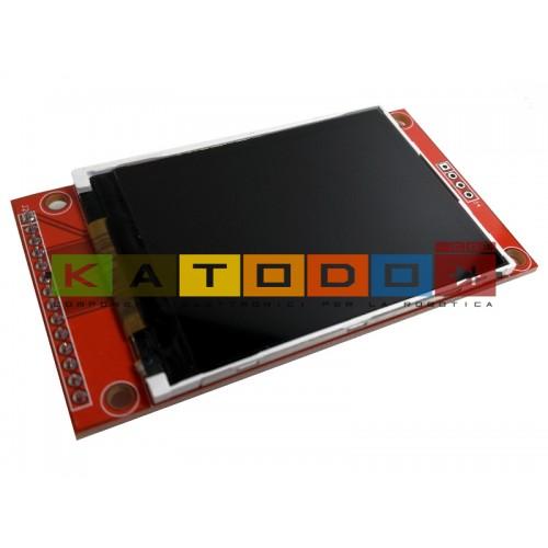 2.4 inch 240×320 18bit TFT ILI9341 - NO TOUCH SCREEN - LCD Arduino Shield