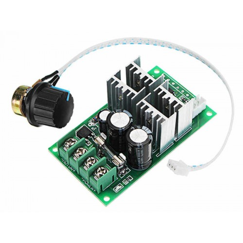 DC 6-60V 30A PWM DC Motor Speed Regulator Controller 6V 12V 24V 36V 48V 60V Support PLC Analog input 0-5V SCM Control