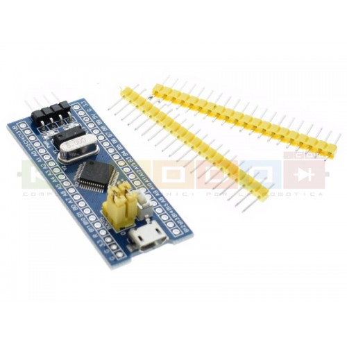 Stm32duino Blue Pill STM32F103C8T6 ARM Cortex-M3 64k Flash†, 20k RAM, USB Development Board Module