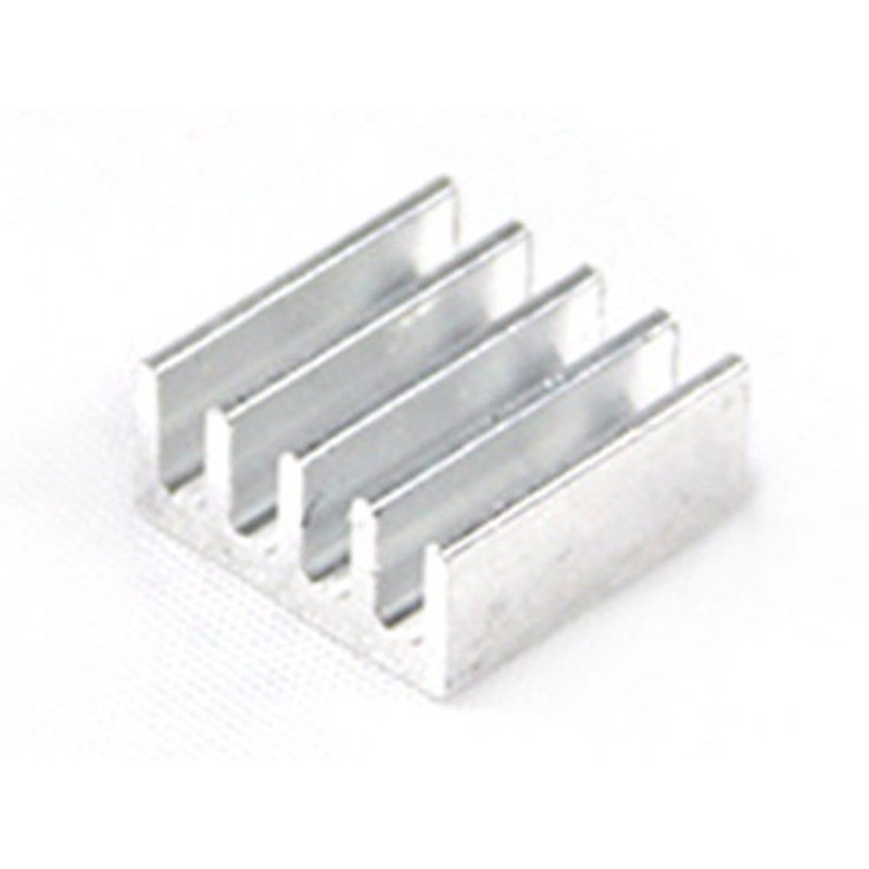 ( 5pz ) Dissipatore in alluminio A4988 Heatsink 11 x 11 x 5 mm