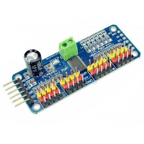 PCA9685 16 Channel 12bit PWM Servo motor Driver I2C Module