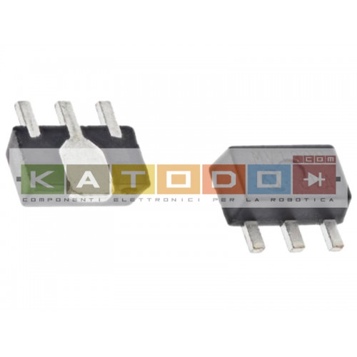Regolatore di tensione lineare MCP1754ST-5002E/MB, 0.15A, 5 V, 0.4%, SOT-89, 3-Pin